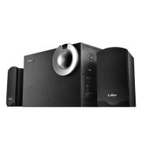漫步者(EDIFIER) R206P U盘播放 2.1声道 多媒体音箱 音响 电脑音箱 黑色