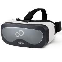 富士通 Fujitsu FV100 VR一体机 智能 VR眼镜 3D头盔