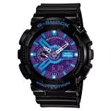 卡西欧(CASIO)手表 G-SHOCK YOUTH系列 男士防震防磁运动手表 自动LED照明石英表 GA-110HC-1A