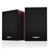 飞利浦(PHILIPS)SPA20 桌面音箱 木质 电脑音箱 音响