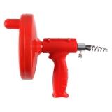 Homix手摇式管道疏通器 5米 红