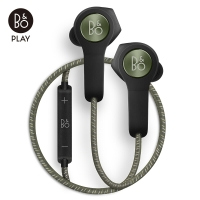 B&O PLAY H5 无线蓝牙磁吸断电入耳式音乐手机耳机 橄榄绿色
