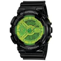 卡西欧(CASIO)手表 G-SHOCK YOUTH系列 街头风 男士防水防震运动手表石英表 GA-110B-1A3
