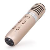 dostyle KM303 Pro 手机麦克风 有线 直播+伴奏输入 支持苹果 安卓 电容麦K歌 YY话筒 唱吧直播