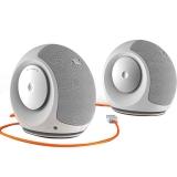 JBL Pebbles mini 音乐蜗牛电脑小音箱 USB供电 低音炮 2.0迷你音响 白色