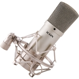 艾肯(iCON) M1 大振膜电容麦克风 专业喊麦主播直播设备声卡套装 网络K歌录音话筒