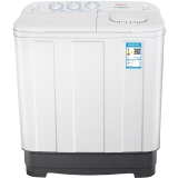 TCL 6.5公斤 半自动双缸洗衣机(白色) XPB65-2228S
