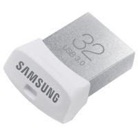 三星(SAMSUNG)Fit 32GB USB3.0 U盘 读150M/s 电脑、车载U盘白色小巧
