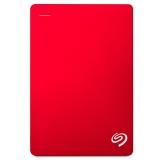 希捷(Seagate)Backup Plus 睿品5TB USB3.0 2.5英寸 移动硬盘 金属中国红(STDR5000303)