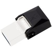 金士顿(Kingston)DTDUO3 64GB OTG USB3.0 micro-USB 和 USB双接口 多功能车载手机U盘