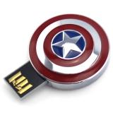 迪士尼(Disney) 复仇者联盟 钢铁侠3 卡通创意优盘 U盘8G 礼品礼物 美国队长