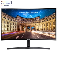 三星(SAMSUNG)C24F396FHC 23.5英寸1800R曲率 广视角低蓝光 曲面电脑液晶显示器(HDMI)