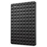 希捷(seagate)Expansion 新睿翼1TB 黑钻版USB3.0 2.5英寸 移动硬盘 经典黑  (STEA1000400)
