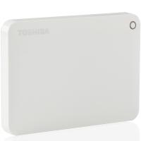 东芝(TOSHIBA)V8 CANVIO高端系列 2.5英寸 移动硬盘(USB3.0)2TB(清新白)