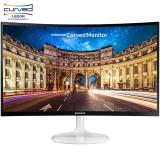 三星(SAMSUNG)C24F399FHC 23.5英寸1800R曲率 广视角低蓝光 曲面电脑液晶显示器(HDMI)