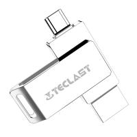 台电(Teclast)灵耀64G手机U盘全金属高速USB3.0 双插口手机电脑通用