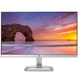 惠普(HP)24ES 23.8英寸 纤薄窄边框 IPS屏 广视角金属底座液晶显示器(银色)