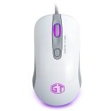 多彩(Delux) M490 有线鼠标 游戏鼠标 网咖鼠标
