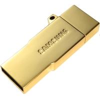 三星(SAMSUNG)64GB OTG 手机U盘 USB/micro USB双接口 铂光金