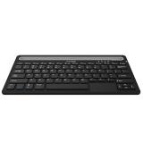 菲沐( FAMOR) L100  蓝牙触控双模键盘 平板键盘 办公键盘 多媒体键盘 黑色