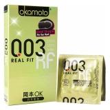 岡本OK避孕套,10片(貼身超薄)