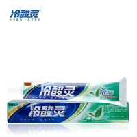 冷酸灵茶清新双重抗过敏牙膏,170g(茉莉花香型)
