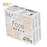 洁柔Face天然无香超迷你型纸手帕,18包JM090-01