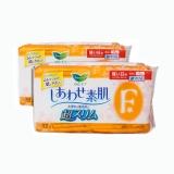 花王乐而雅棉柔亲肤F系列 日用小量超薄型卫生巾,17cm*32片-黄