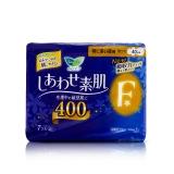 花王F系列夜用卫生巾超薄瞬吸零触感(特多量),40cm,7片新老包装随机发货