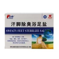 汗脚除臭抑菌浴足盐,30gx5袋
