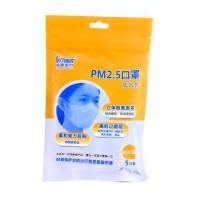 PM2.5口罩,5只裝(經典白)