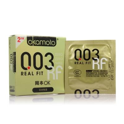岡本OK避孕套(0.03贴身超薄)2只