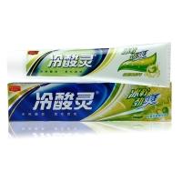 冷酸灵冰柠劲爽双重抗过敏牙膏,110g(冰柠薄荷香型)