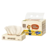 泉林本色60抽塑装面巾纸,3包/提(BR60)