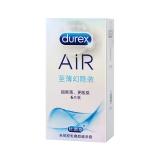 杜蕾斯天然胶乳橡胶避孕套,6只至尊隐幻装air