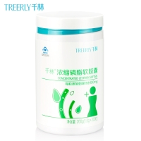 千林R浓缩磷脂软胶囊,200g(1gx200粒)