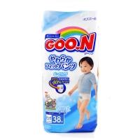 大王拉拉裤维E系列,男宝宝XL,38片,新老包装随机发货
