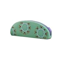 圆弧硅胶笔袋,D01293绿色