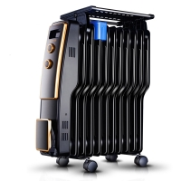 先锋(Singfun) 取暖器/家用电暖器/电暖气/11片S型电热油汀 DS671