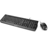 联想扬天(Lenovo)商用键鼠套装(黑色)