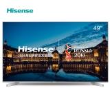 海信(Hisense)LED49EC550UA 49英寸 14核配置 HDR 炫彩4K VIDAA智能电视(钛银)