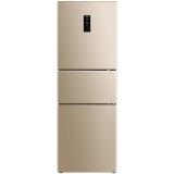 美菱(MeiLing)BCD-271WP3CX 271升三门冰箱 0.1度精控双变频 风冷无霜 一级能效 宽幅变温 杀菌净味(玫瑰金)