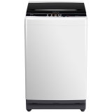 TCL XQB90-K300BP 9公斤 变频全自动波轮洗衣机 一级能效 自编程 一键脱水(宝石黑)