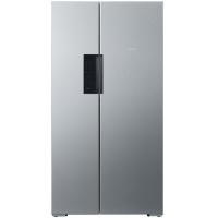 西门子(SIEMENS) BCD-610W(KA92NV41TI) 610升 变频风冷无霜 对开门冰箱 竖显触摸屏 旋转制冰盒(不锈钢色)