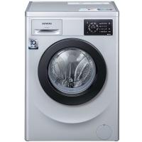 西门子(SIEMENS) WM10L2687W 7公斤 变频 滚筒洗衣机 无旋钮触控 加速洗 节能洗(银色)