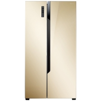 海信(Hisense)BCD-535WTVBP/Q 535升 对开门冰箱 变频风冷无霜 纤薄机身 电脑控温 节能静音 (流光金)