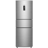 美的(Midea) BCD-258WTM(E) 258升 风冷无霜 电脑控温 中门24档调温三门冰箱  节能静音 炫彩钢