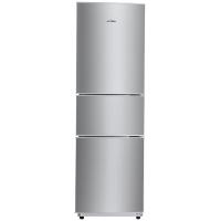 美的(Midea)BCD-206TM(E) 206升 时尚三门三温冰箱 日耗电0.49度 HIPS环保内胆 闪白银