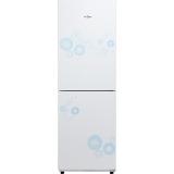 美的(Midea) 190升 时尚双门冰箱 静音省电 BCD-190CM(E)悦动白