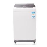 松下(Panasonic)7.5公斤全自动波轮洗衣机 24小时预约 节水立体漂洗 双重洁净XQB75-Q77231灰色